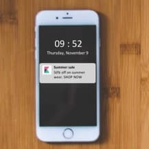 Implement beacon campaigns on iOS