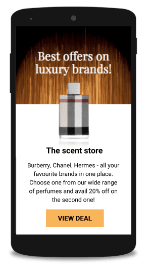 Beacon can be employed to inform shoppers in retail stores.