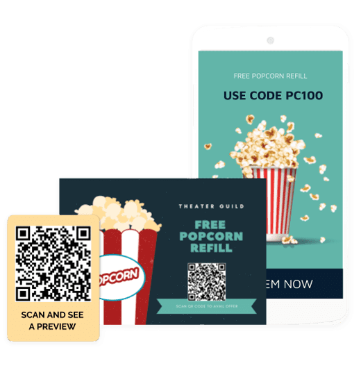 QR Codes on coupons