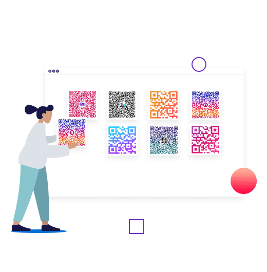 Design a customized QR code