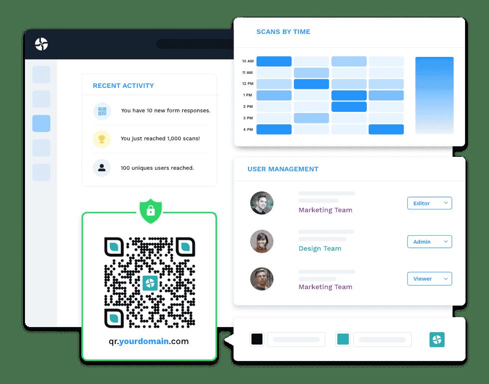 All-in-one QR Code management platform