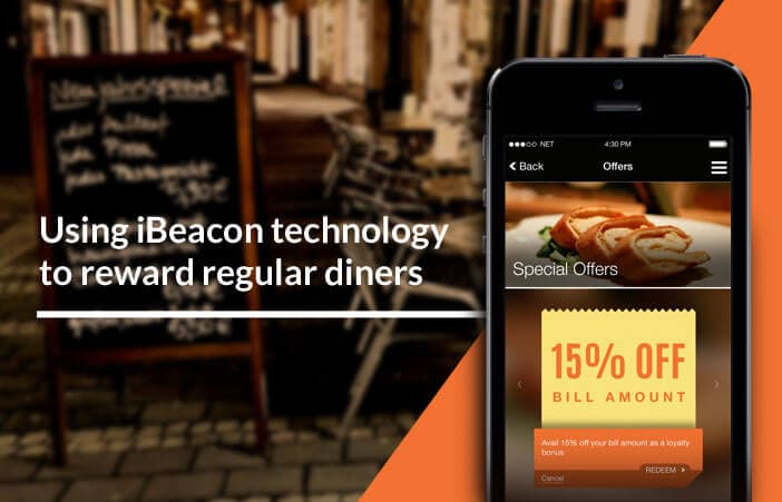 Beacon campaign for your restaurant using beaconstac