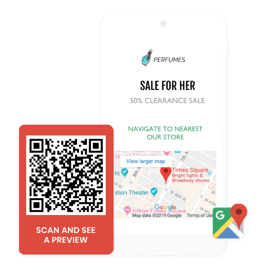 Location QR Code: Create Google Maps, Waze and Apple Maps QR