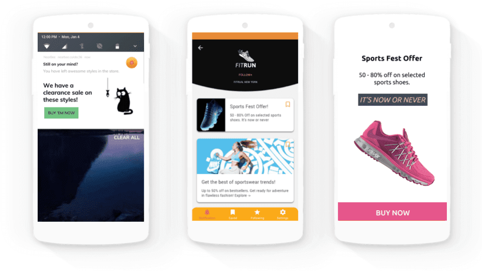 Beacon-enabled app - NearBee