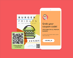 QR Codes on flyers