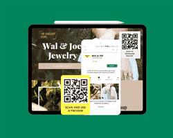 QR Codes on websites