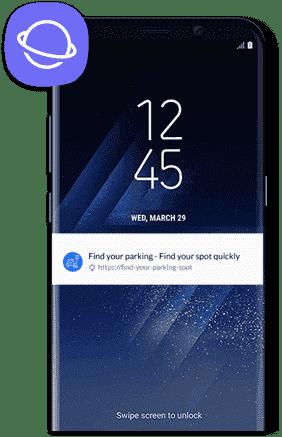 Beacon Marketing with Samsung CloseBy.