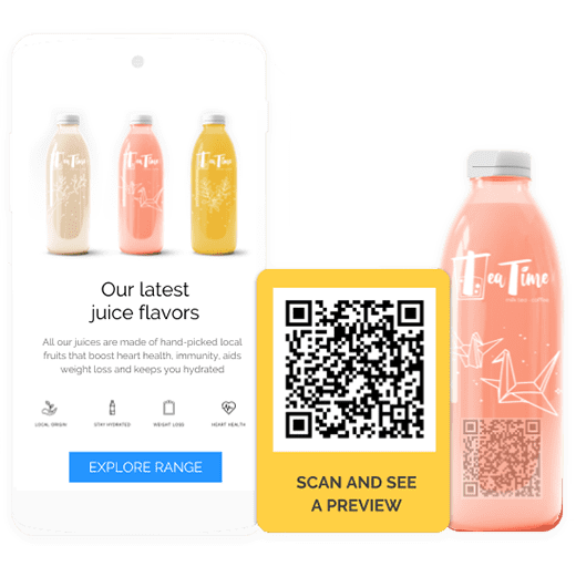 How to create a QR Code on product packaging