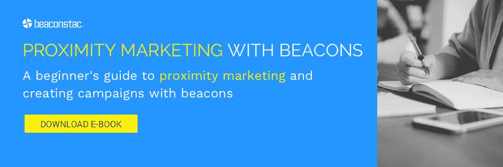Proximity marketing with beacons