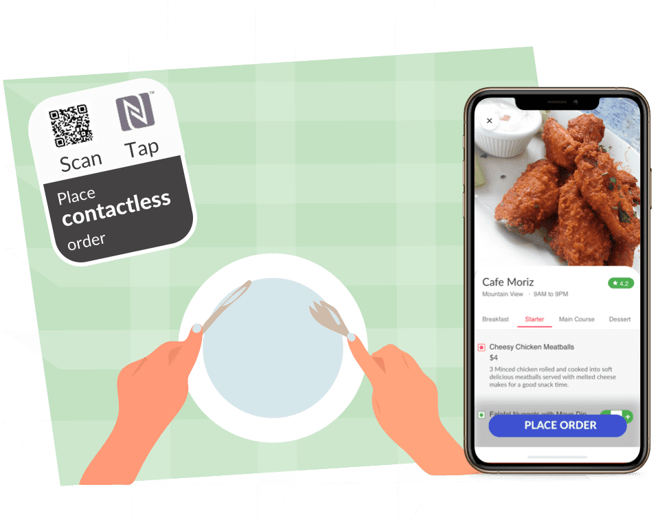 Enable Contactless ordering