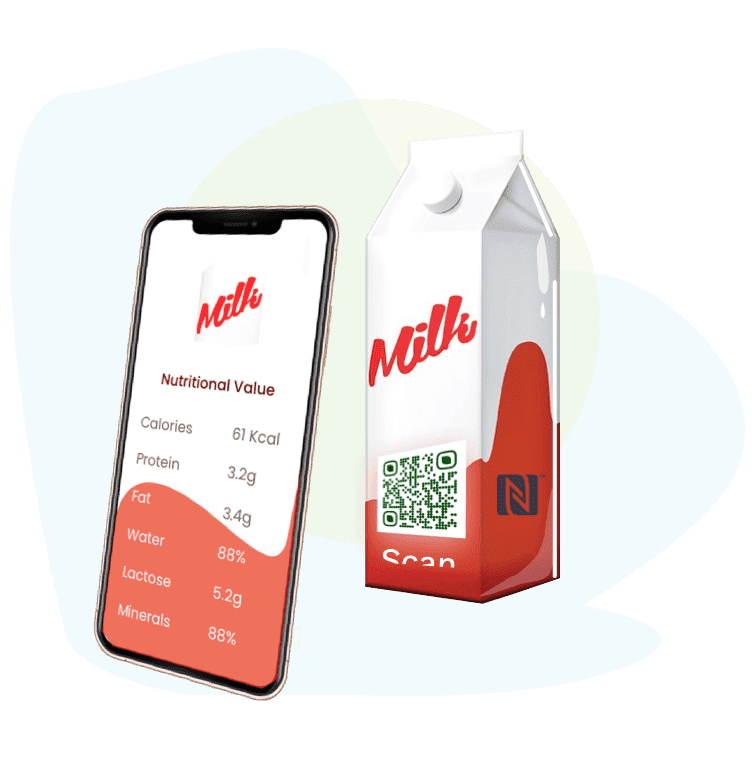 Interactive contactless product packaging