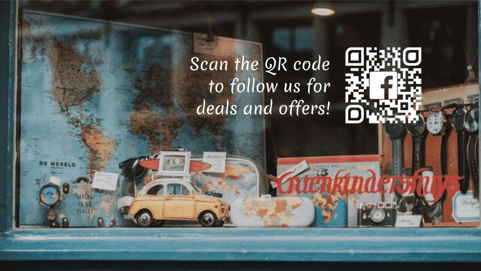 QR code marketing to generate customer interest