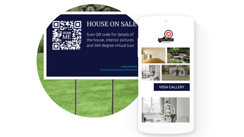 QR code marketing to engage with users
