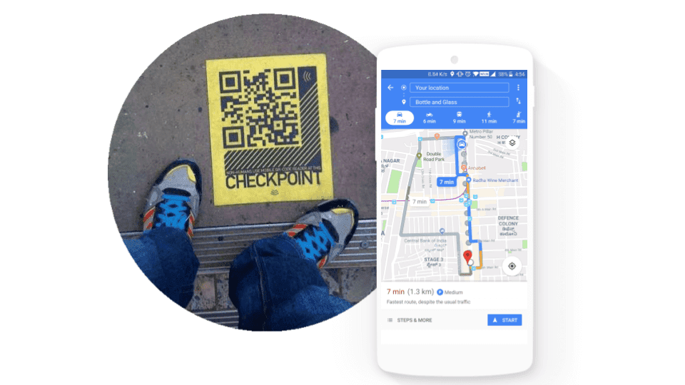 QR code marketing to drive traffic
