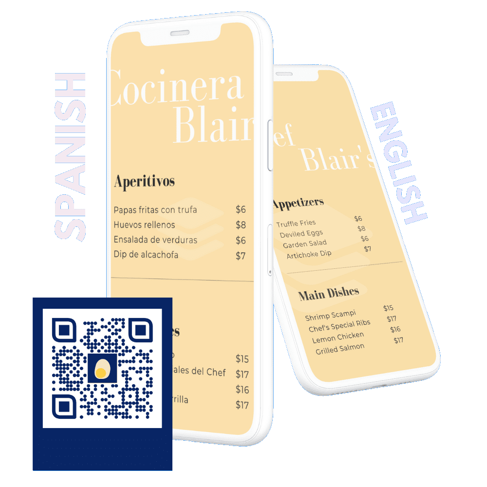 Multilingual QR Codes