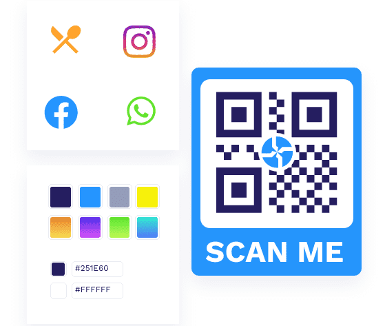 QR Code tracking scans and analytics platform