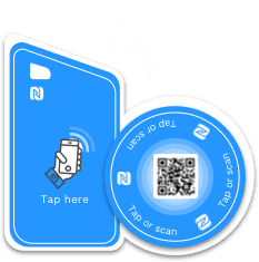 NFC tags - keycard and sticker