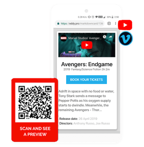 Create Free Video QR Codes Online